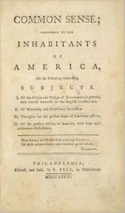 Common Sense by Thomas Paine (Complete Full Version)