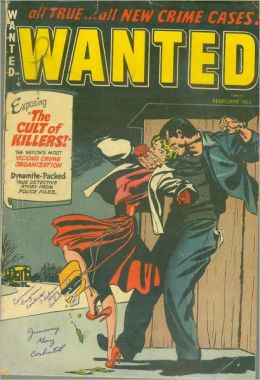 Wanted Comics Number 52 Crime Comic Book