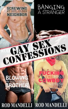 Gay Sex Confessions Story Collection Volume 1 (M/M Gay Erotica Bundle)