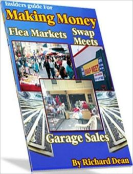 eBook about Making Money At Garage Sale, Swap Meet, Flea Market -
