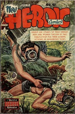 Heroic Number 91 Reality Comic Book