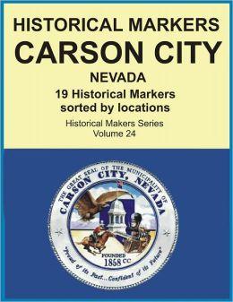 Historical Markers CARSON CITY, NEVADA