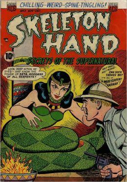 Skeleton Hand Number 2 Horror Comic Book