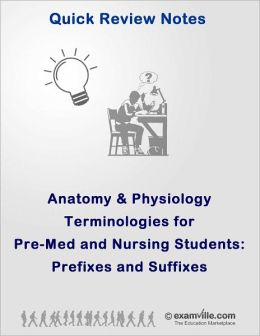 Anatomy & Physiology Terminologies for PreMed and Nursing Students: Prefixes and Suffixes