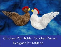 Chicken Hen Potholder Crochet Pattern