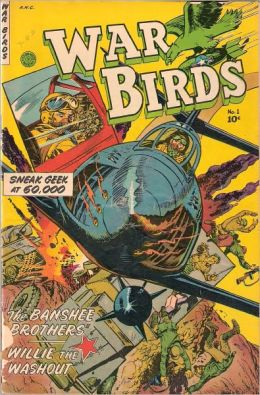 War Birds Number 1 War Comic Book