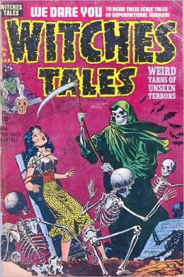 Witches Tales Number 8 Horror Comic Book