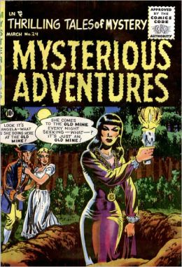 Mysterious Adventures Number 24 Horror Comic Book