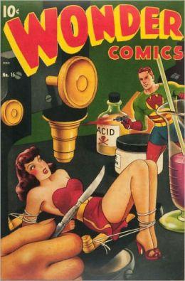 Wonder Comics Number 15 Action Comic Book