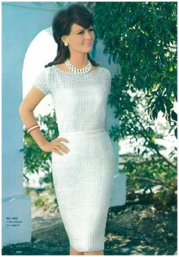 PATTERN #0088 CATALINAN DRESS VINTAGE CROCHET