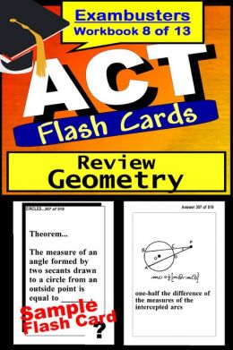 ACT Test Geometry Review--ACT Math Flashcards--ACT Prep Exam Workbook 8 of 13