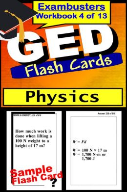 GED Study Guide Physics Review--GED Science Flashcards--GED Prep Workbook 4 of 13