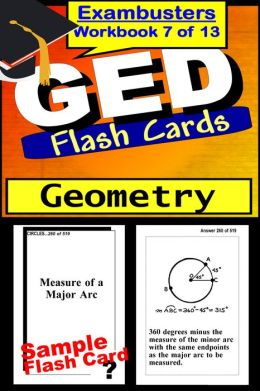 GED Study Guide Geometry Review--GED Math Flashcards--GED Prep Workbook 7 of 13