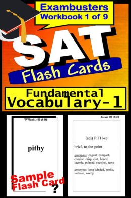 SAT Study Guide Fundamental Vocabulary--SAT Flashcards--SAT Prep Workbook 1 of 9