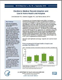 Electronic Medical Record Adoption and Use in Home Health and Hospice
