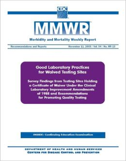 Good Laboratory Practices for Waived Testing Sites