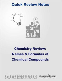 Chemistry Review: Names and Formulas of Chemical Compounds
