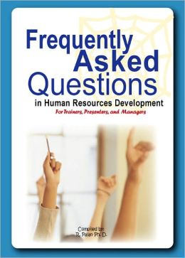 Frequently asked questions in HRD