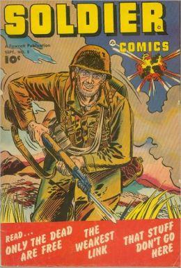 Soldier Comics Number 5 War Comic Book