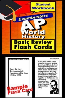AP World History Study Guide--AP History Flashcards--AP Prep Workbook
