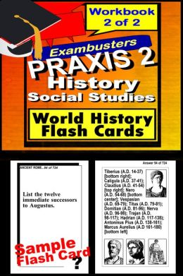 PRAXIS 2 World History/Social Studies Study Guide--PRAXIS History Flashcards--PRAXIS 2 Prep