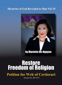 RESTORE FREEDOM OF RELIGION