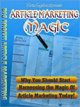 Article Marketing Magic AAA+++