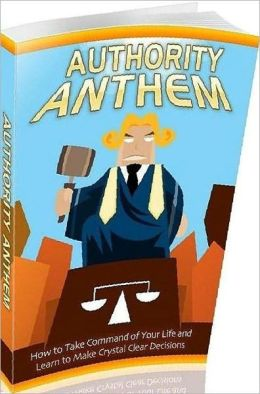 "Self Esteem eBook about Authority Anthem - ""you are what you believe"". ..."