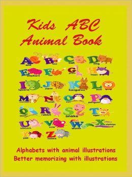 Kids ABC : ABC Animal Book