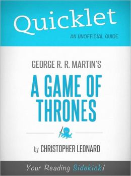 Quicklet on Game Of Thrones