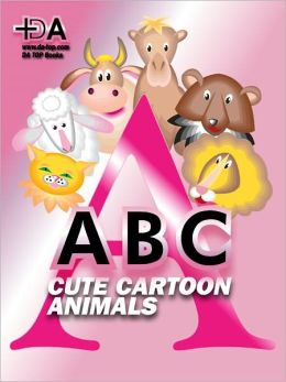 Cute ABC: Cartoon Animals Alphabet Picture Book (Halloween Gift Idea)