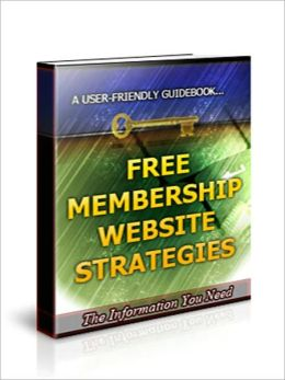 Free Membership Website Strategies