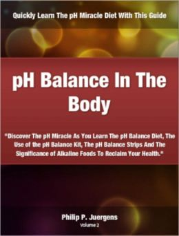 pH Balance In The Body;