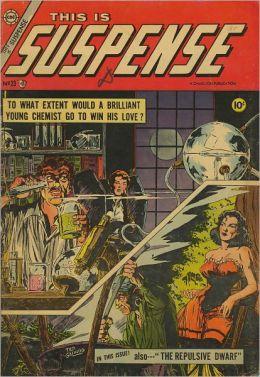 Viintage Horror Comics: This is Suspense No. 23 Circa 1955