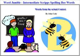 Jumbled Words- Fun way to practice for the Scripps Spelling Bee (Intermediate)
