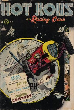 Hot Rods and Racing Cars Number 11 Car Comic Book