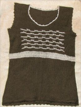 Saratoga Shell - Knitting Pattern