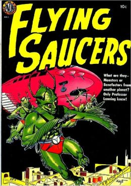 Flying Saucers Horror Comic Book