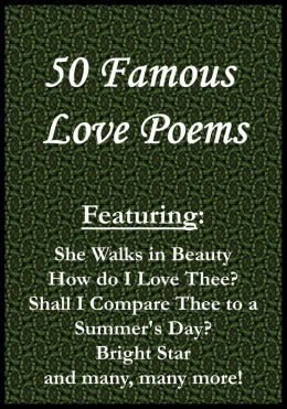 50 Famous Love Poems