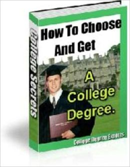 Path to Personal Enrichment - How to Choose and Get a College Degree