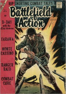 Battlefield Action Number 16 War Comic Book