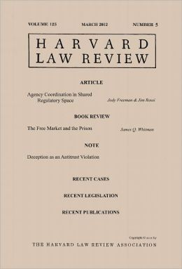Harvard Law Review: Volume 125, Number 5 - March 2012