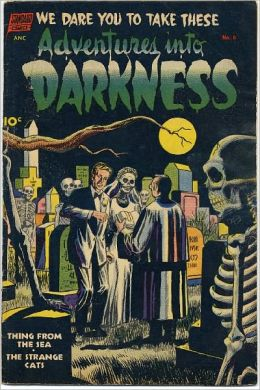 Adventures Into Darkness 6 Horror Comic Book