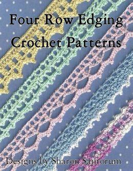 Four Row Edging Crochet Patterns