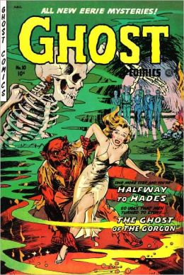 Ghost Comics Number 10 Horror Comic Book
