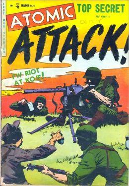 Atomic Attack number 6 war comic book