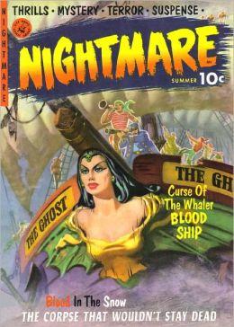 Nightmare Number 1 Horror Comic Book