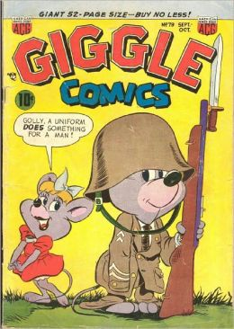 Giggle Comics Number 79 Childrens Comic Book
