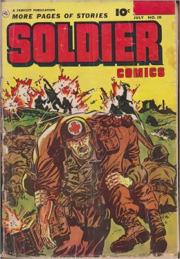 Soldier Comics Number 10 War Comic Book