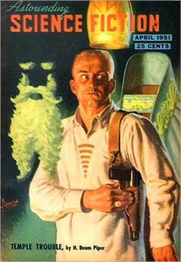 Temple Trouble: A Science Fiction, Post-1930 Classic By H. Beam Piper! AAA+++